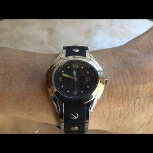 Jewelry - Deep Violet Druzy Stainless Steel Watch